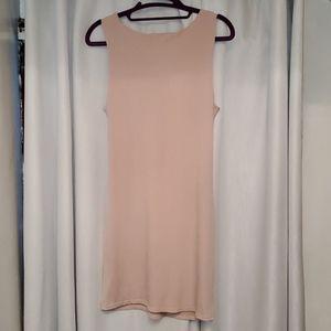 Soprano Dresses - Bodycon Stretch Nude Women Dress